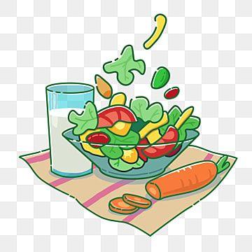 Salad Milk Diet Meal Cartoon Png Material Salad Milk Carrot Png Transparent Clipart Image And Psd File For Free Download Fotos De Frutas Bebidas Com Frutas Decoracao De Frutas