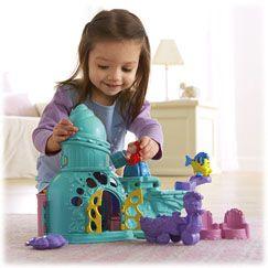 Little People Disney Ariels Castle - Fisher-Price Online Toy Store @Danielle Ward !!!!!!!!!!!!!!!!!!!!!!!!!!!!!!