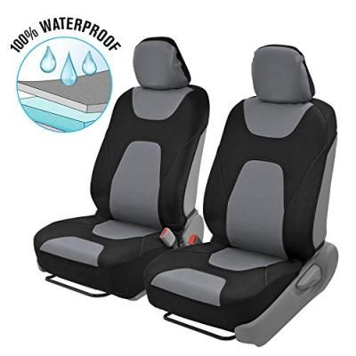 3-Layer Breathable Car Seat Cover Modern Sideless Quick Install Auto Protection