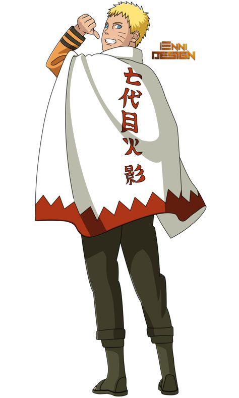 Boruto:The Next Generation|Naruto Uzumaki (Hokage) by iEnniDESIGN on DeviantArt