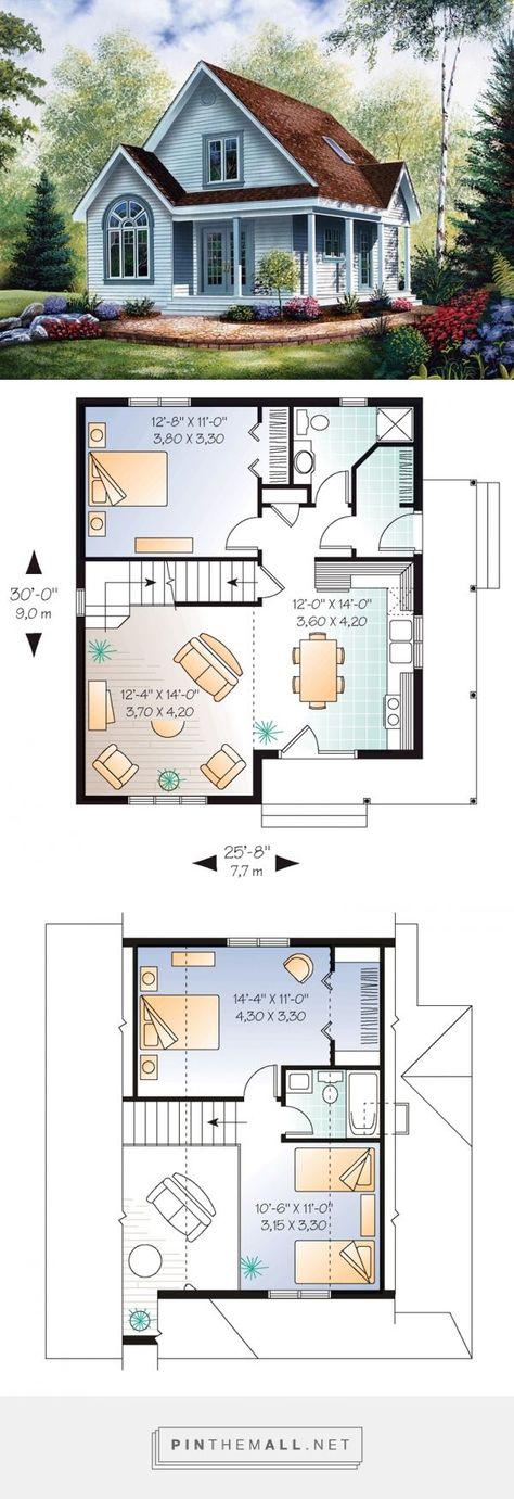 House Plan 64983 at FamilyHomePlans.com - #FamilyHomePlanscom #house #Plan