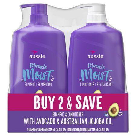 Aussie Miracle Moist Shampoo And Conditioner Hair Set 26 2 Fl Oz Walmart Com In 2021 Aussie Miracle Moist Aussie Miracle Moist Shampoo Aussie Miracle Moist Shampoo And Conditioner