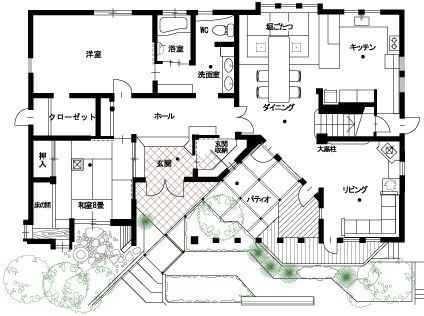 Mbcハウジングフェア 二世帯間取り 40坪 間取り 平面図