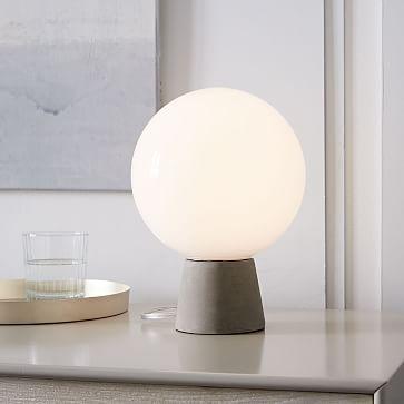 Nova Table Lamp Concrete Table Lamp Lamp Bedroom Lamps
