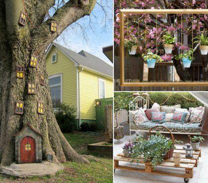 Epingle Par Quelinnette Sur Jardin Decoration Jardin Decor De Jardin Rustique Idees Jardin