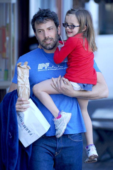 Ben Affleck take his daughter Seraphina to breakfast
