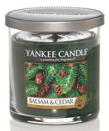 Balsam Cedar Tumbler Candle Zulily Cedar Candle Yankee Candle Yankee Candle Decor