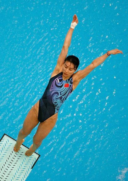 Guo Jingjing Diving Beijing 2008 Athens 2004 Womens 3m Springboard Synchro Spring Board Divingboardh Olympic Swimmers Female Athletes Women S Diving