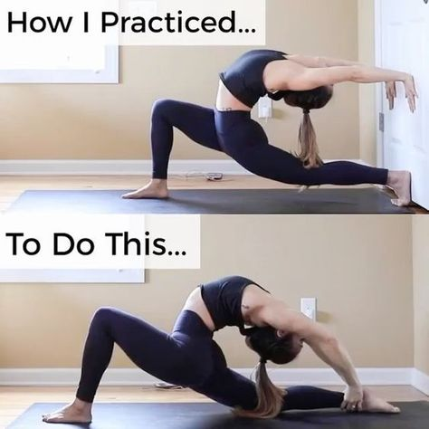 I hope I can do this soon After getting hurt I can't do advanced pose like this