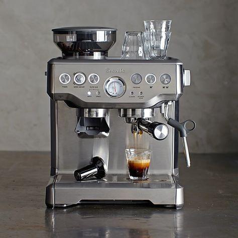Breville Barista Express Espresso Maker Williams Sonoma Breville Barista Express Espresso Best Espresso Machine