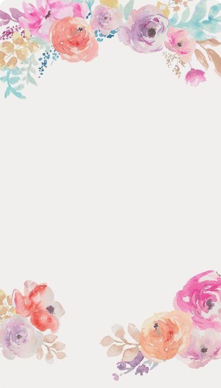 Floral Flower Iphone Wallpaper Floral Iphone Background Floral Illustrations