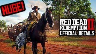 Red Dead Redemption 2 - MORE HUGE DETAILS! RDR2 Companion App, RDR2