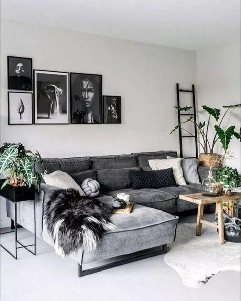 75 Grey Small Living Room Apartment Designs to Look Amazing #smalllivingroom #livingroom #greylivingroom ~ aacmm.com #idéesdesalon
