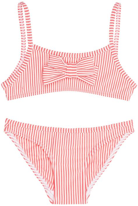 e3a33b078c8d2 SALE NOW ON: Shop The Petit Bateau Girls Brasier Bikini In Pink with 40% OFF.  Browse The Cutest Designer Girls Clothes, Handpicked By Elias & Grace.