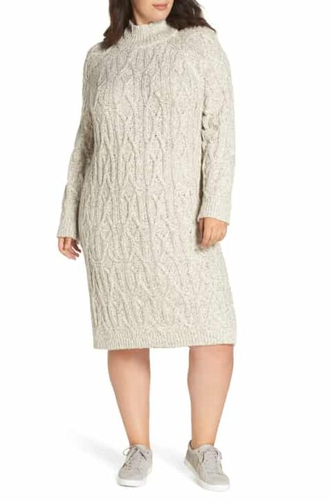 e02ae693b75 BP. Cable Knit Sweater Dress (Plus Size) Online Cheap in 2019