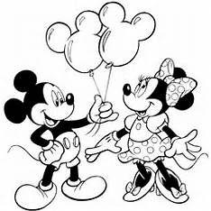 Mickey And Minnie Coloring Pages Desenhos Para Colorir Desenhos