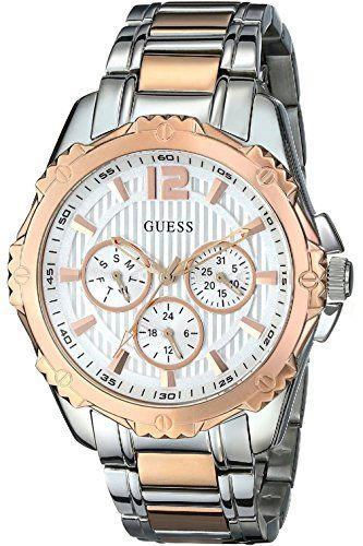 Women's Wrist Watches - GUESS Womens MultifunctionSporty WR >>> More info could be found at the image url.