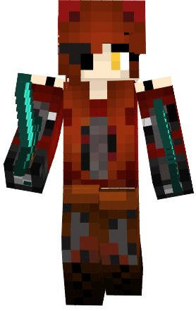 foxy girl | FNAF Minecraft Skins | Pinterest | Minecraft skins