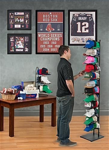 hat display baseball hat racks