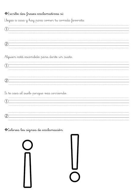 Aprende Los Signos De Puntuacion Y Mas Con Fichas Animadas Fichas Para Pintar Dibujos Signos De Puntuacion Apuntes De Lengua Sustantivos Adjetivos Y Verbos