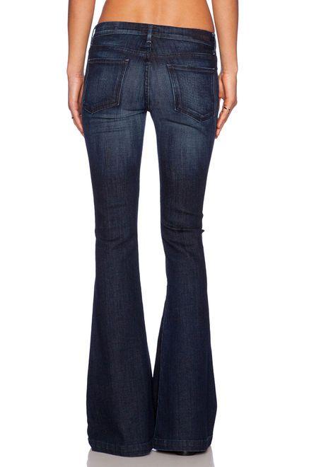 a68853f42faae6 Women   Denim Womens Livier Flare Jeans   Get The label   jeans in 2019    Jeans, Flare jeans, Denim