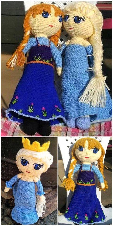 Como fazer Cabelo para Boneca Amigurumi Tam G - Crochê passo a ... | 948x474