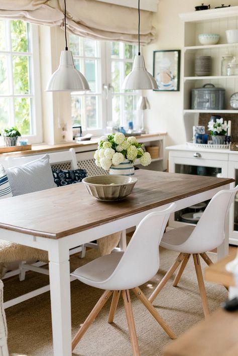 Der Essbereich in der Küche #interior #interiorideas #einrichtung…