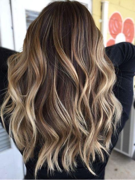 22 Balayage Haare für blonde und braune Haare.  #haircolor #hairstyle #haarfarbe #frisuren
