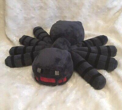 Minecraft Plush Spider 12 X 16 Spin Master Pixelated Stuffed