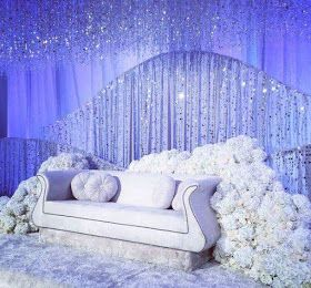 Pelamin Mewah Cantik Wedding Stage Decorations Indian Wedding Decorations Wedding Stage