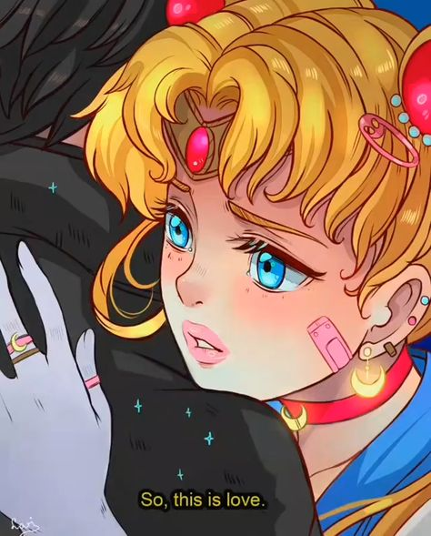 🌠Music: Moonlight Densetsu by R3 Music Box ------ #sailormoon #redrawchallenge #usagitsukino #digitalart #2danimation #mangastyle #animearts #drawing #colorfulart #sailormoonart
