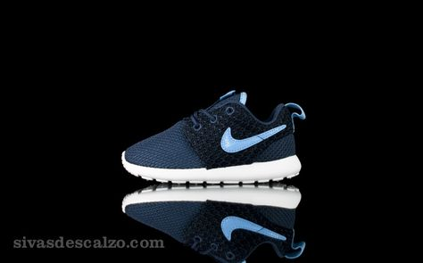 3b4826ef7826 Nike Roshe Run (PS TD) Midnight Navy  sivasdescalzo  sneakers   nike  roshe   kids