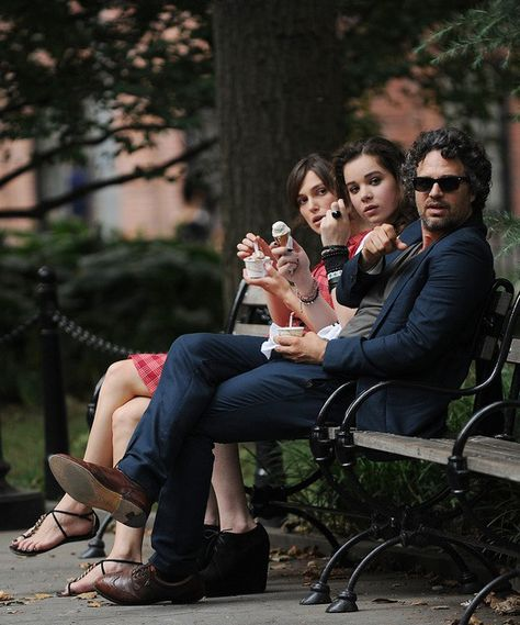 Father's Day Movie Recommendation: Begin Again...because there's a special father-daughter relationship with Mark Ruffalo and Hailee Steinfield's characters. | Anchor Bay Entertainment