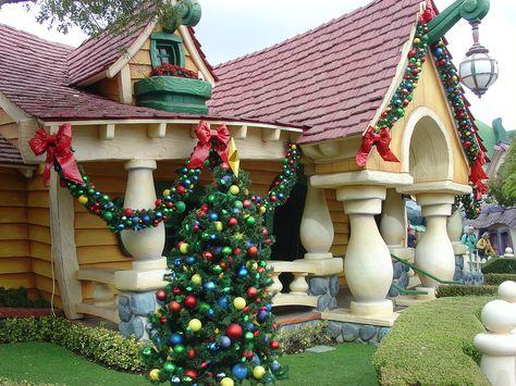 Disneyland's Toontown. Photo by M.H. Habata.