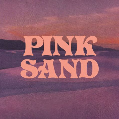 """Pink Sand"" by Cailin Russo added to Discover Weekly playlist on Spotify Typography Quotes, Typography Inspiration, Typography Letters, Graphic Design Typography, Graphic Design Inspiration, Branding Design, Logo Branding, Type Design, Design Art"