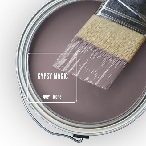Enjoy the Behr Ultra 8 oz. Gypsy Magic Interior/Exterior Paint Tester # with low VOC ready-to-go tester is formulated with both paint and primer from The Home Depot Behr Paint Colors, Paint Color Schemes, Bedroom Paint Colors, Interior Paint Colors, Paint Colors For Home, House Colors, Purple Paint Colors, Office Paint Colors, Indoor Paint Colors