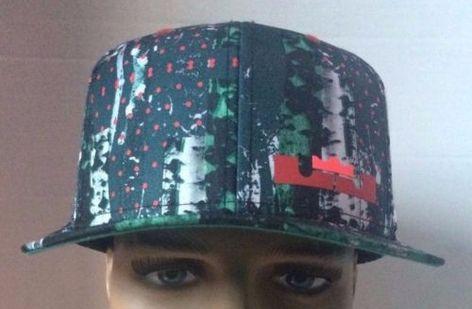 9af2fc927bb50 Nike-True-Lebron-12-Snapback-Hat-Cap-Limited-Edition-Christmas-Akron-Birch
