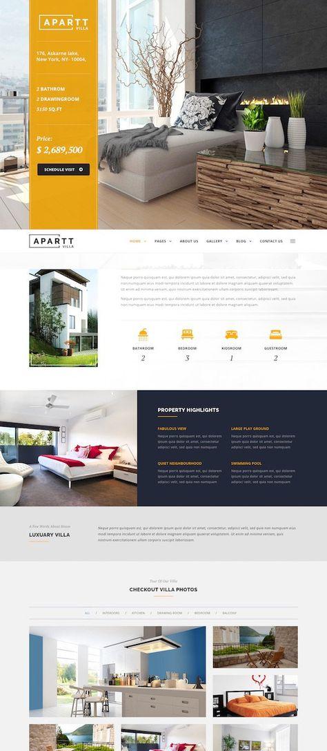 10+ Best Single Property Real Estate WordPress Themes