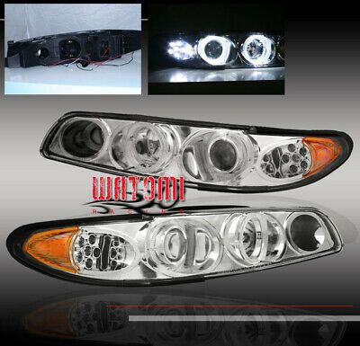 Ad Ebay 97 03 Pontiac Grand Prix Projector Headlights 98 01 02 Pontiac Grand Prix Projector Headlights Black Headlights