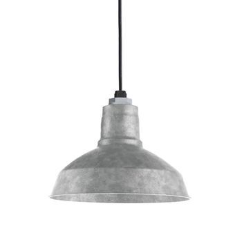 12 Drake 975 Galvanized Sbk Standard Black Cord Galvanized Light Galvanized Pendant Light Rustic Pendant Lighting