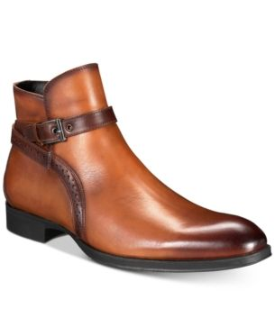 Alfatech By Alfani Men S Ansell Double Buckle Boots Created For
