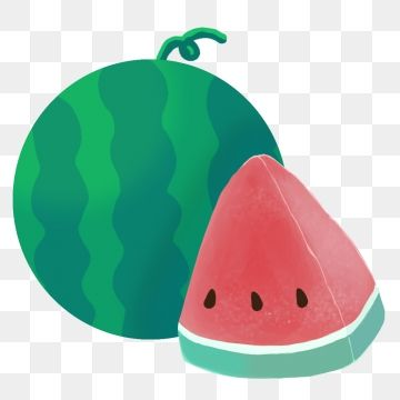 Summer Vacation Watermelon Hand Painted Japanese Style Summer Fruit Refreshing Png Transparent Clipart Image And Psd File For Free Download Clip Art Cute Watermelon Hand Painted