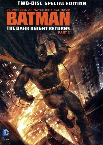 Batman The Dark Knight Returns Part 2 Animated Special 2 Disc