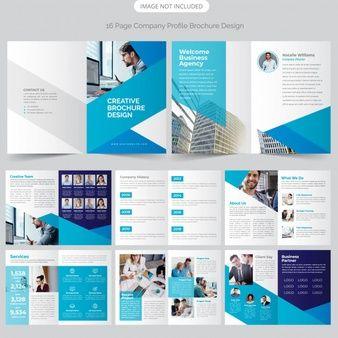16 Page Company Profile Design Company Profile Design Company Profile Company Brochure Design