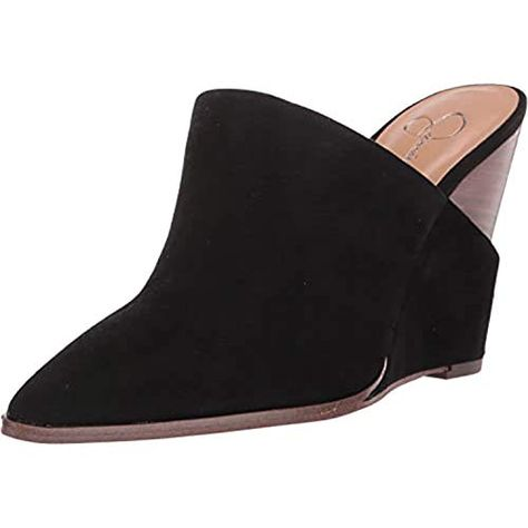 Jessica Simpson Women's Synthetic Slip-On Pointed-Toe Heilo Mules | Jodyshop
