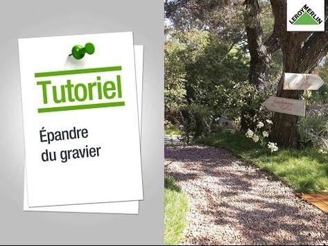 Comment Epandre Du Gravier Leroy Merlin Jardin En Gravier Faire Un Jardin Allee De Jardin