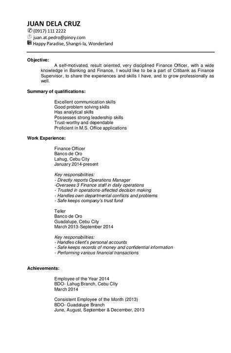 inspiring targeted resume template gallery di 2020