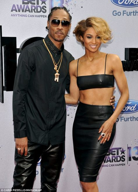 Ciara New Boyfriend | Not an inch to pinch! Ciara flaunts her toned tummy in a two different ...