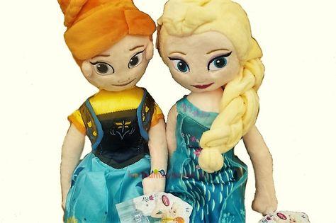 Lalka Pluszowa Elsa Anna Kraina Lodu Lalka Frozen Fever 50cm Zelda Characters Disney Princess Disney Characters