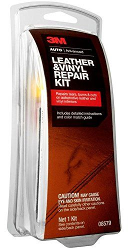 3m 08579 Leather Vinyl Repair Kit With Images Vinyl Repair Diy Leather Craft Tools Leather Craft Tools